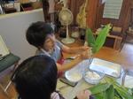 『未来のママのための食卓の食育教室』で出雲の笹巻き作り!