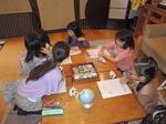 和三盆糖でお干菓子作り!小学生の『未来のママのための食卓の食育教室』